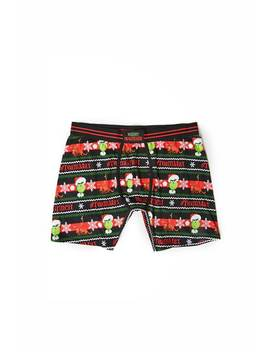 The Grinch Boxer Briefs by Forever 21