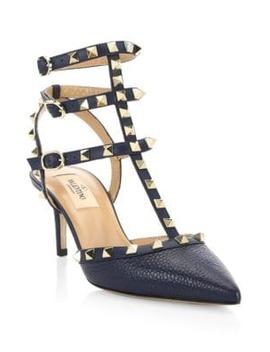 Rockstud 65 T Strap Heels by Valentino Garavani