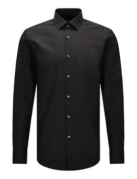 Boss Men's Slim Fit Easy Iron Cotton Dress Shirt by Hugo Boss
