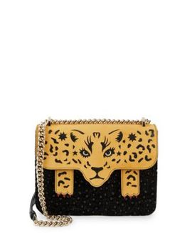 Fierce Belafonte Leopard Crossbody Bag by Charlotte Olympia