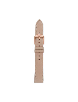 16mm Blush Leather Strap by Fossil