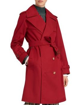 Crambeck Trench Coat by Burberry