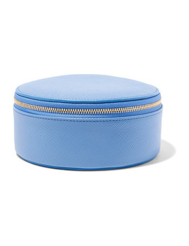 Panama Textured Leather Jewelry Case by Smythson