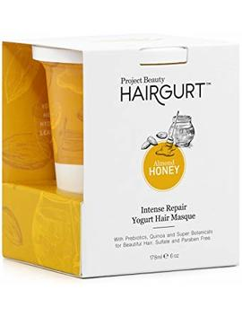 Hairgurt Intense Repair Deep Conditioner Yogurt Hair Masque For Dry And Damaged Hair; Sulfate Free (6 Oz) by Project Beauty