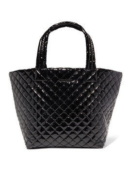 Metro Medium Quilted Vinyl Tote by Mz Wallace