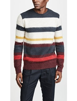 Stripes Mohair Pullover by Maison Kitsune