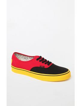 Vans X Disney Mickey Mouse Authentic Shoes by Pacsun