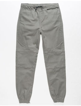 East Pointe Arnold Boys Twill Moto Jogger Pants by East Pointe