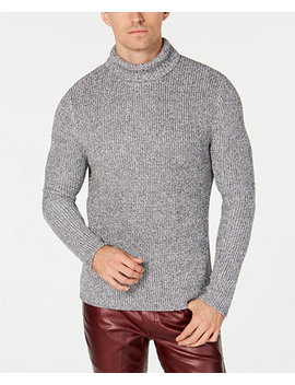 I.N.C. Men's Textured Turtleneck Sweater, Created For Macy's by Inc International Concepts