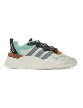Green Turnout Trainer Sneakers by Adidas Originals By Alexander Wang