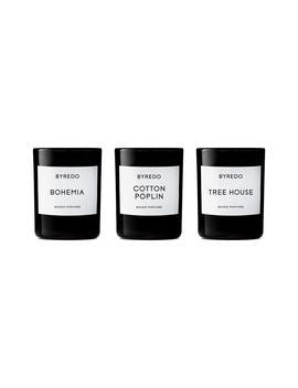 La Sélection Bois Mini Candle Trio by Byredo