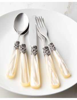 rope-20-piece-flatware-service by neiman-marcus