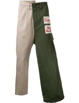 Combined Cargo Pants by Maison Mihara Yasuhiro