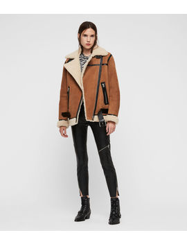 Rei Shearling Jacket by Allsaints