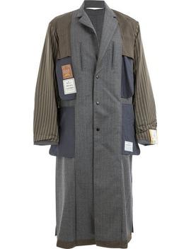 Inside Out Coat by Maison Mihara Yasuhiro