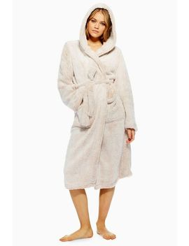 Super Soft Longline Robe by Topshop