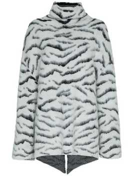 Tiger Print Mohair Jumper by Givenchy