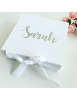 Set Of 4 Bridesmaids Boxes, Bridesmaid Gift by Etsy