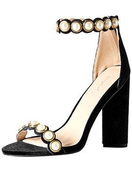 Qupid Women's Lyra 30 Heeled Sandal by Qupid