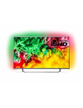 Philips 43 Pus6753/12 43 Inch 4 K Ultra Hd Smart Tv With Hdr Plus, Freeview Play And Ambilight 3 Sided   Dark Silver (2018 Model) by Philips
