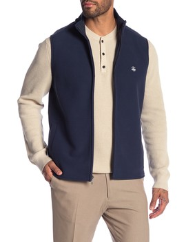 Polar Fleece Vest by Brooks Brothers