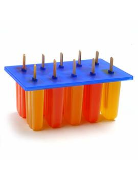 Norpro Frozen Ice Pop Maker With 24 Wooden Sticks by Norpro