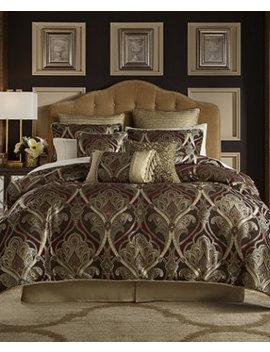 Bradney Queen 4 Pc. Comforter Set by Croscill