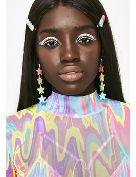 Star Shine Drop Earrings by Ciel