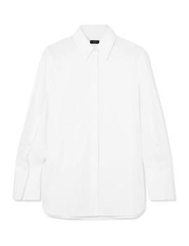 Mason Cotton Poplin Shirt by Joseph