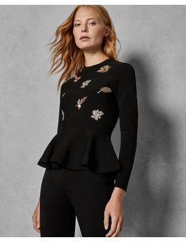 Pirouette Embellished Jumper by Ted Baker