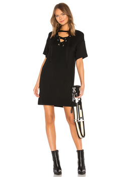 Lace Up Mini Dress by Bobi