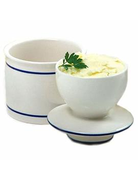 Norpro Glazed Stoneware Butter Keeper by Norpro