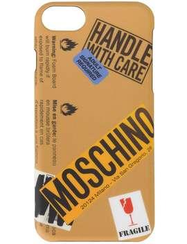 Logo Warning Sign I Phone 6 Case by Moschino