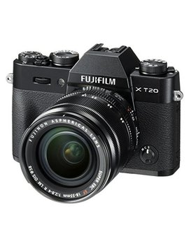 Fujifilm X T20 Mirrorless Digital Camera With 18 55mm Lens (Silver) by Fujifilm