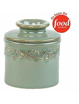 The Original Butter Bell Crock By L. Tremain, Antique Collection   Sea Spray by Butter Bell
