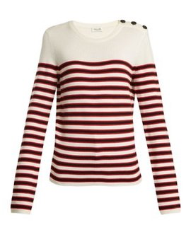 Striped Wool Sweater by Matches Fashion