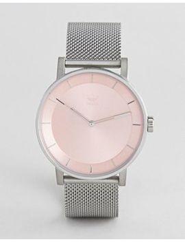 Серебристые часы Adidas Z04 Balance by Asos