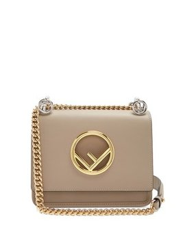 Kan I Logo Small Leather Cross Body Bag by Matches Fashion