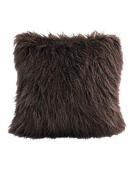 Loon Peak Odonnell Mongolian Faux Fur Throw Pillow & Reviews by Loon Peak