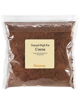 Natural Cocoa Powder By Penzeys Spices 12.8 Oz 3 Cup Bag by Penzeys