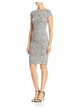 Tweed Sheath Dress   100 Percents Exclusive by Aqua