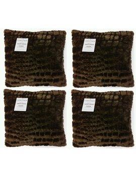 Linen Depot Direct Faux Fur Throw Pillow & Reviews by Linen Depot Direct