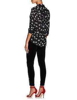 Piper Velvet Skinny Jeans by L'agence