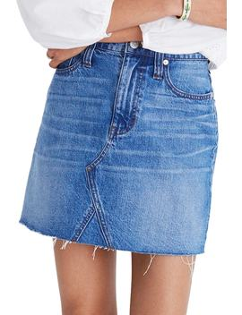 Frisco Denim Miniskirt by Madewell