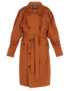 Double Front Trench Coat by Matches Fashion