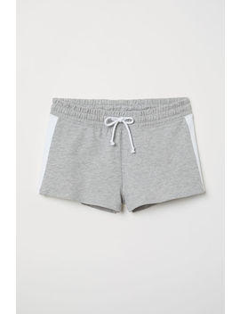 Short Sweatshirt Shorts by H&M