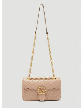 Small Gg Marmont 2.0 Shoulder Bag In Neutrals by Gucci