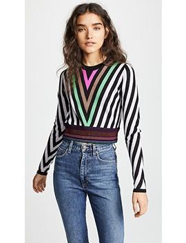 Chevron Sweater by Diane Von Furstenberg