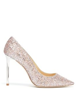 Romy 100 Glitter Pumps by Matches Fashion