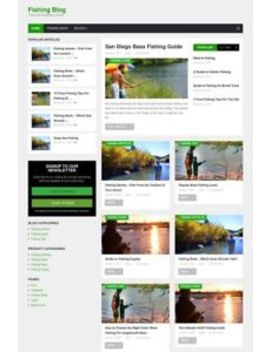 Fishing Website Blog And Online Store For Sale   Turnkey Business Opportunity by Ebay Seller